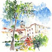 Velez Rubio Townscape 01 Art Print