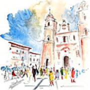 Velez Rubio Townscape 02 Art Print