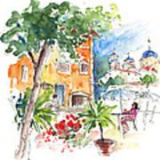 Velez Rubio Townscape 03 Art Print
