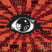 Vendetta Typography Art Print