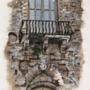 Venetian Balcony 02 Elena Yakubovich Art Print
