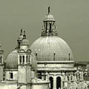 Venetian Basilica Salute Art Print