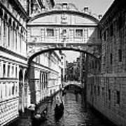 Venetian Classic Bridge Art Print