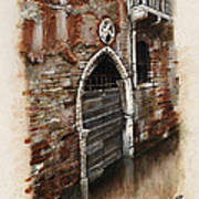 Venetian Door 03 Elena Yakubovich Art Print