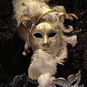 Venetian Face Mask B Art Print