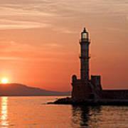 Venetian Lighthouse Art Print