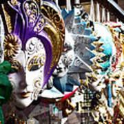 Venetian Masks 1 Art Print