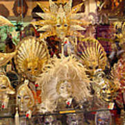 Venetian Masks 2 Art Print