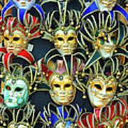 Venetian Opera Masks Art Print