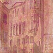 Venetian Rose Water Art Print