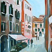 Venetian Street Art Print