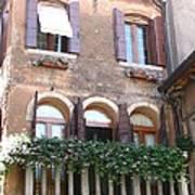 Venetian Veranda Art Print