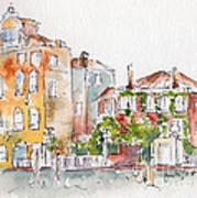 Venezia Grand Canal Art Print