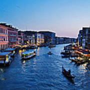 Venezia - Il Gran Canale Art Print