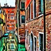 Venezia Mi Amor Art Print