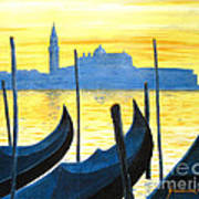 Venezia Venice Italy Art Print by Jerome Stumphauzer