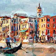 Venice 14 Art Print