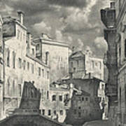 Venice. A View From The Other Bridge Art Print