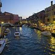Venice At Dusk Art Print