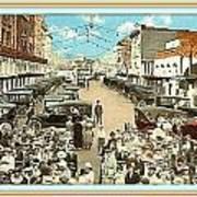 Venice Ca Rally- 1920 Art Print