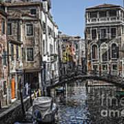 Venice Canal 5 Art Print