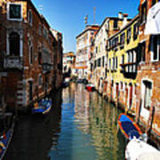 Venice Canal Art Print by Bill Cannon