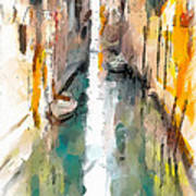 Venice Canals 0 Art Print