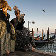 Venice Carnival '15 IIi Art Print