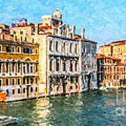 Venice - Grand Canal Art Print