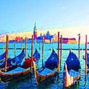Venice Hues Art Print