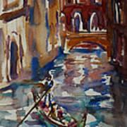 Venice Impression V Art Print