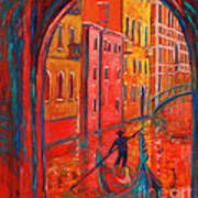 Venice Impression Viii Print by Xueling Zou