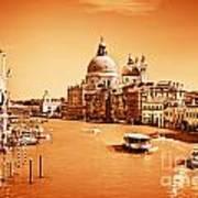 Venice Italy Grand Canal Art Print