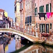 Venice Living Art Print