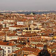 Venice Italy - No Canals Art Print