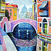 Venice Reflections Art Print