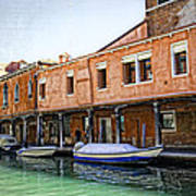 Venice Reflections - Italy Art Print