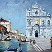 Venice - Scuola Di San Marco Art Print