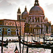 Venice The Grand Canal Art Print