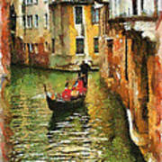 Venice View Art Print by Cary Shapiro