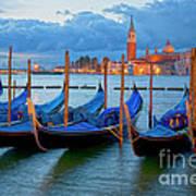 Venice View To San Giorgio Maggiore Art Print