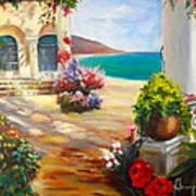Venice Villa Art Print