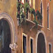 Venice Windows Art Print