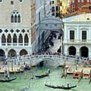 Venice's Bridge Of Sighs Art Print