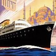 Venise Vintage Travel Poster Art Print