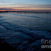 Ventura Pier Sunrise Art Print by John Daly