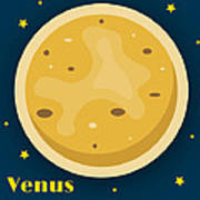 Venus Print by Christy Beckwith