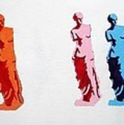Venus De Milo Statue Art Print