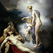 Venus Healing Aeneas Art Print