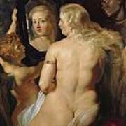 Venus In A Mirror Art Print